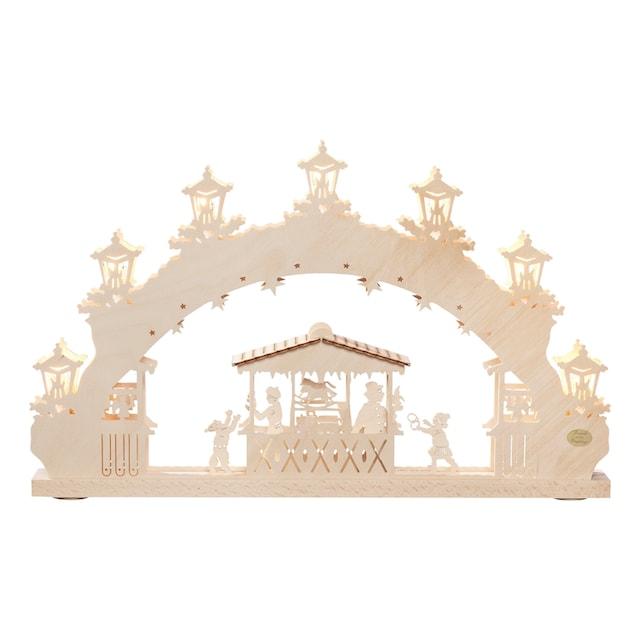 SAICO Original 3D-Lichterbogen Weihnachtsmarkt