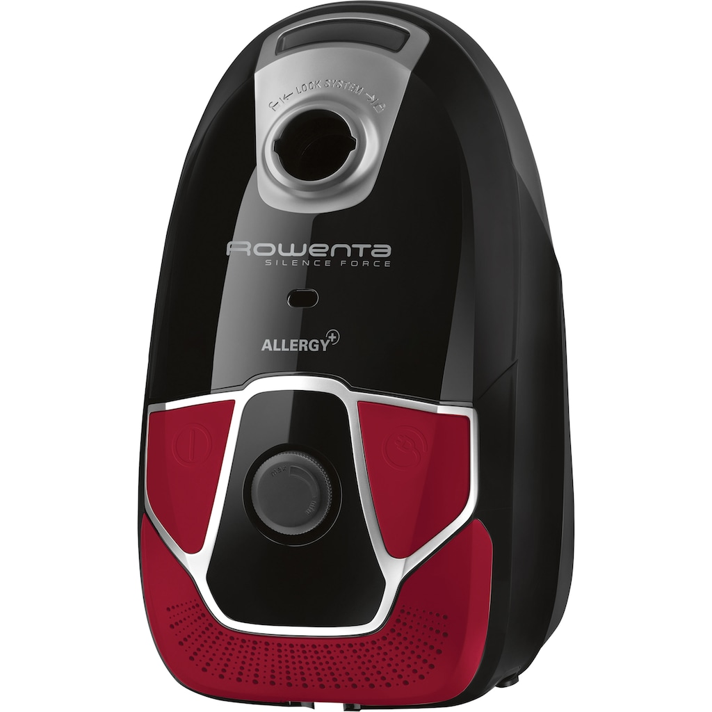 Rowenta Bodenstaubsauger »RO6859 Silence Force Allergy+ Parkett«, 450 W, mit Beutel, Permanenter Hochleistungsfilter