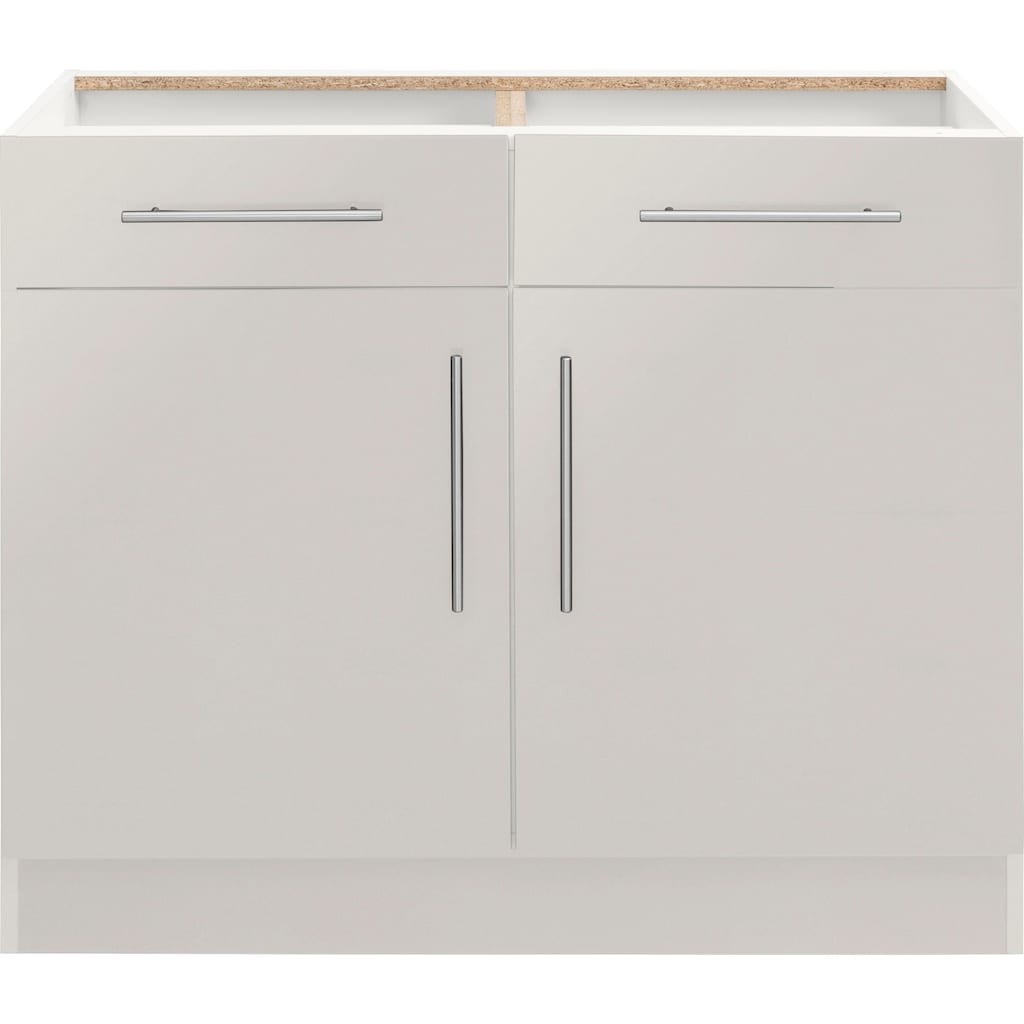 wiho Küchen Unterschrank »Cali«, 100 cm breit, ohne Arbeitsplatte