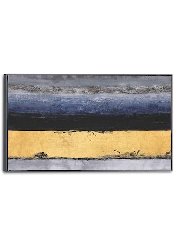 Reinders! Leinwandbild »Leinwandbild Streifen Abstrakt - Glamourös - Modern«,... kaufen