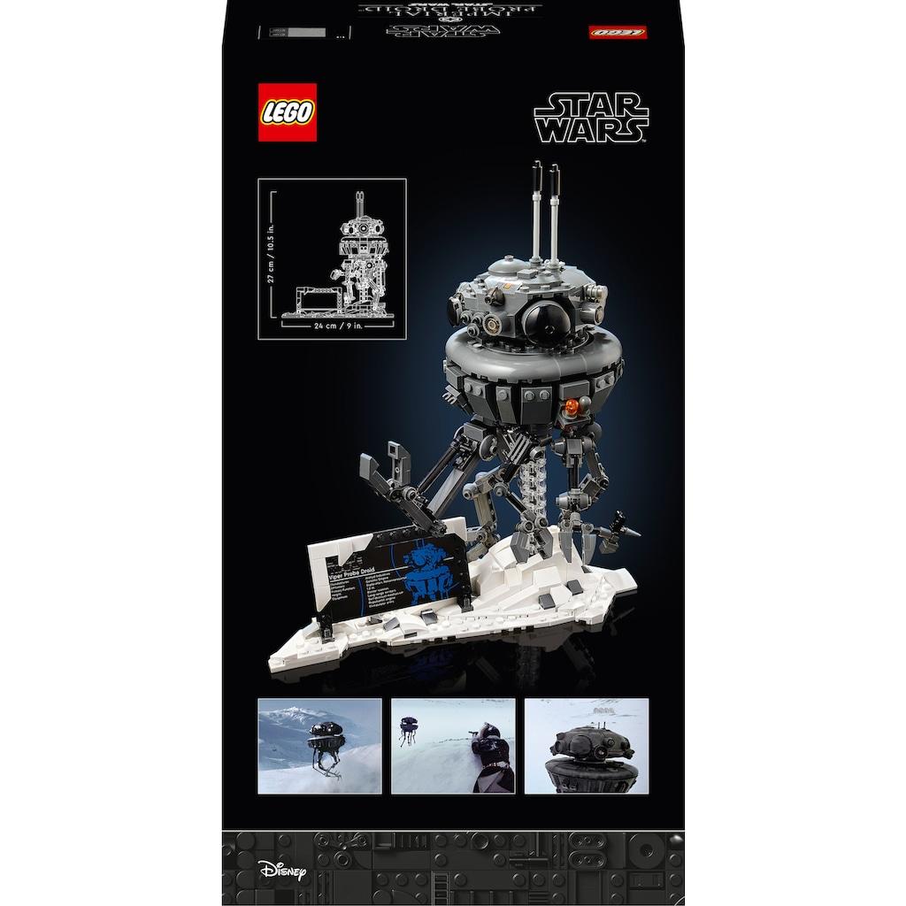LEGO® Konstruktionsspielsteine »Imperialer Suchdroide (75306), LEGO® Star Wars™«, (683 St.), Made in Europe