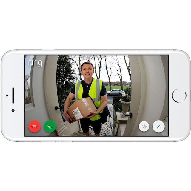 Ring »Doorview Cam« Smart Home Türklingel, Außenbereich, Innenbereich