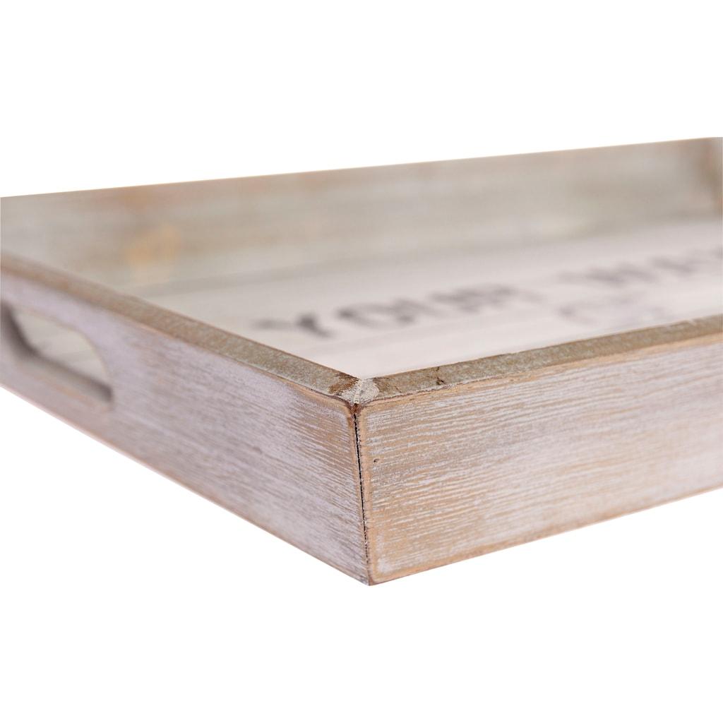 Myflair Möbel & Accessoires Tablett »Ewi«, ohne Füße