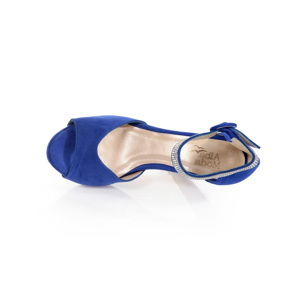Alba Moda Sandalette mit Plateausohle