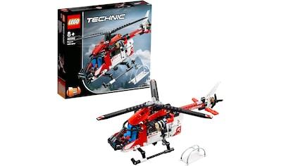 """LEGO® Konstruktionsspielsteine """"Rettungshubschrauber (42092), LEGO® Technic"""", Kunststoff, (325 - tlg.) kaufen"""