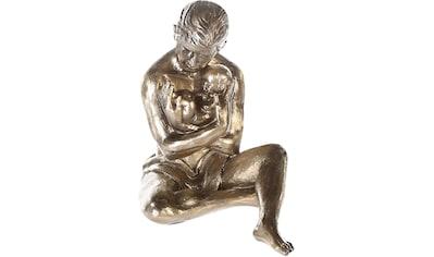 Casablanca by Gilde Dekofigur »Skulptur Fürsorge«, Dekoobjekt, Höhe 22 cm, Vater mit... kaufen