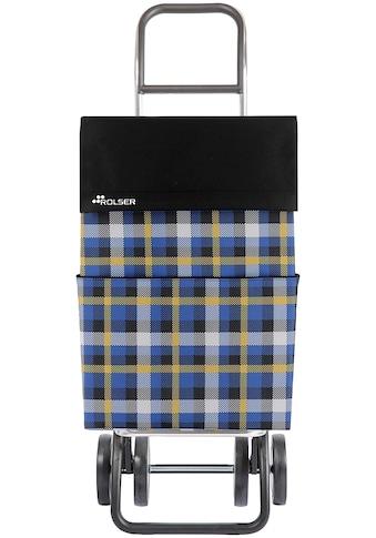 """Rolser Einkaufstrolley """"DOS+2 DML Scottish"""", 43 Liter kaufen"""