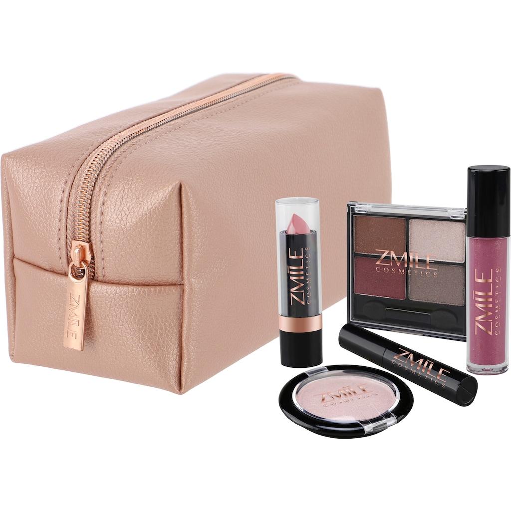 ZMILE COSMETICS Kosmetik-Set »Beauty in the bag! Roségold«, (10 tlg.)