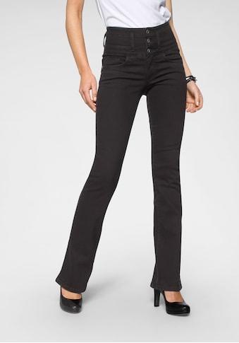 Arizona Bootcut - Jeans »mit extrabreitem Bund« kaufen