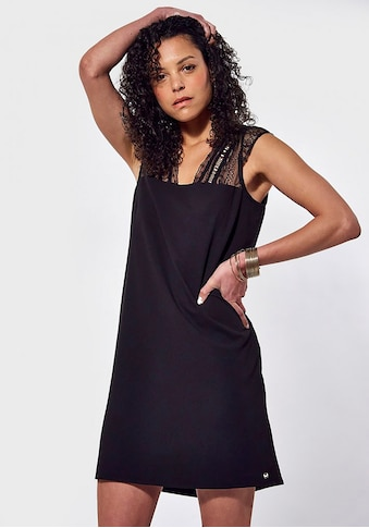 Kaporal A-Linien-Kleid »Janka«, mit Spitzendetails & tiefem Rückenausschnitt kaufen