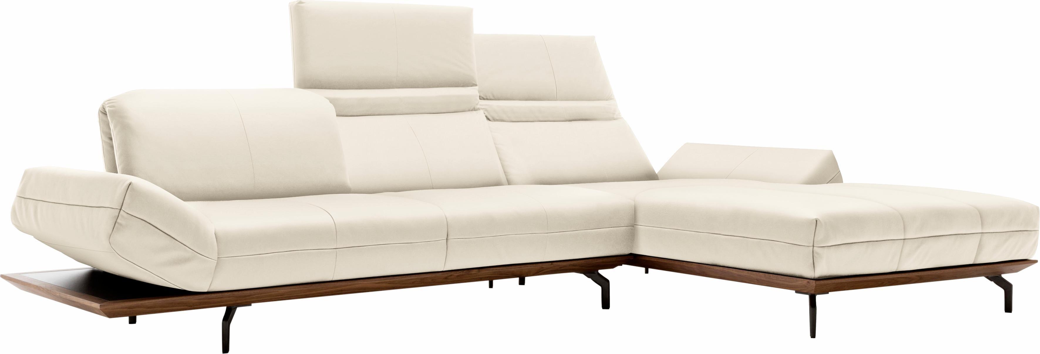 hülsta sofa Polsterecke »hs.420« mit Rücken- und Armlehnenverstellung | Wohnzimmer > Sofas & Couches > Ecksofas & Eckcouches | Flachgewebe - Polyester - Leder | HÜLSTA SOFA