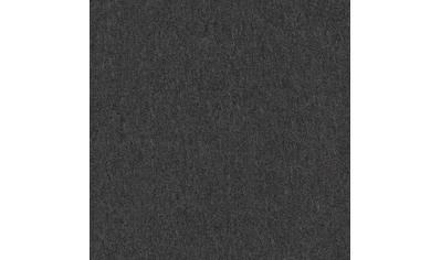Teppichfliese »Neapel«, quadratisch, 3 mm Höhe, Anthrazit, selbstliegend kaufen