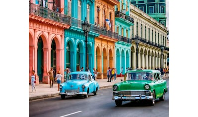 "Komar Vliestapete »Cuba""«, Stadt kaufen"