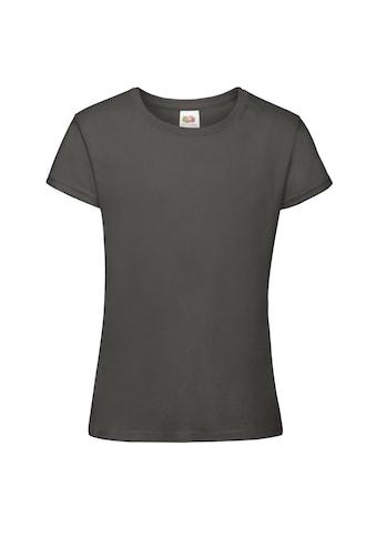 Fruit of the Loom T-Shirt »Sofspun 2er-Pack Mädchen mit Kurzarm und Rundhalsausschnitt« kaufen
