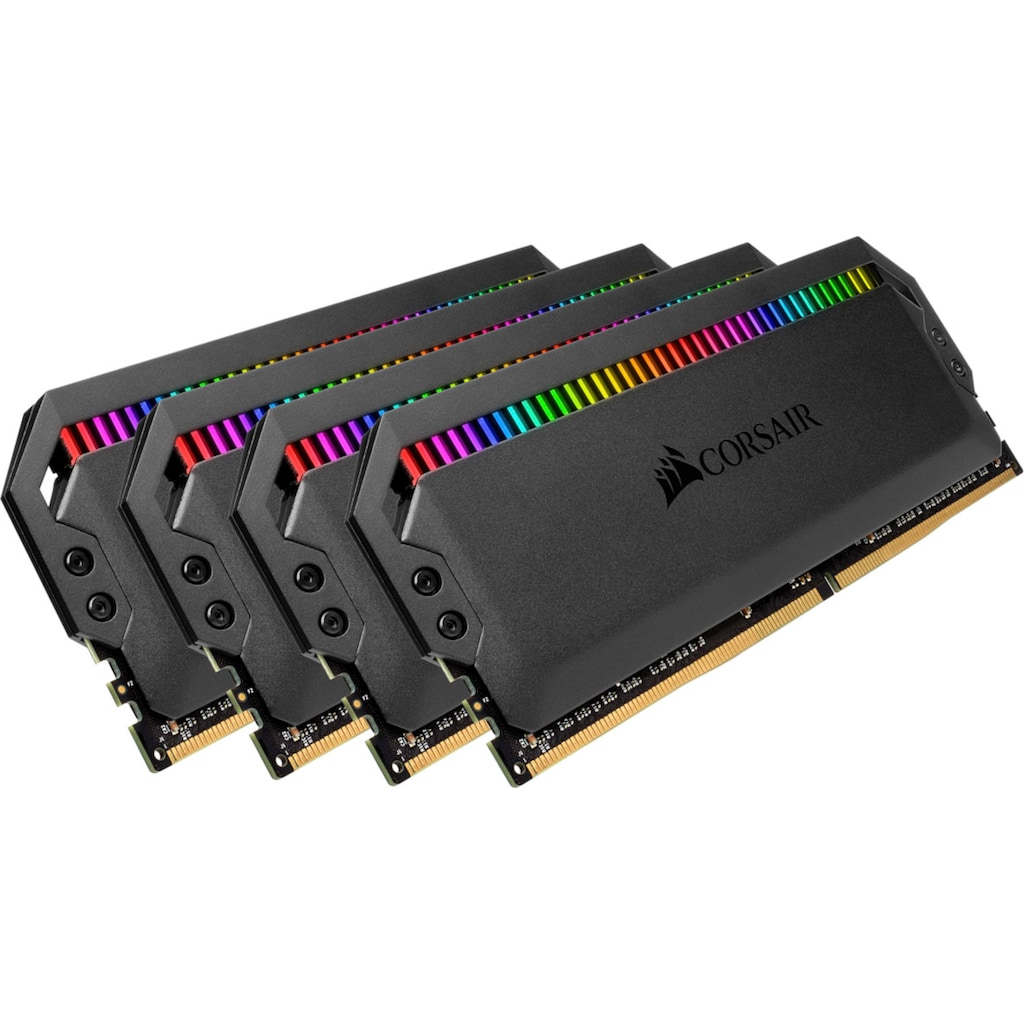 Corsair PC-Arbeitsspeicher »DOMINATOR RGB 32 GB (4 x 8 GB) DDR4 DRAM 3.600 MHz C18«