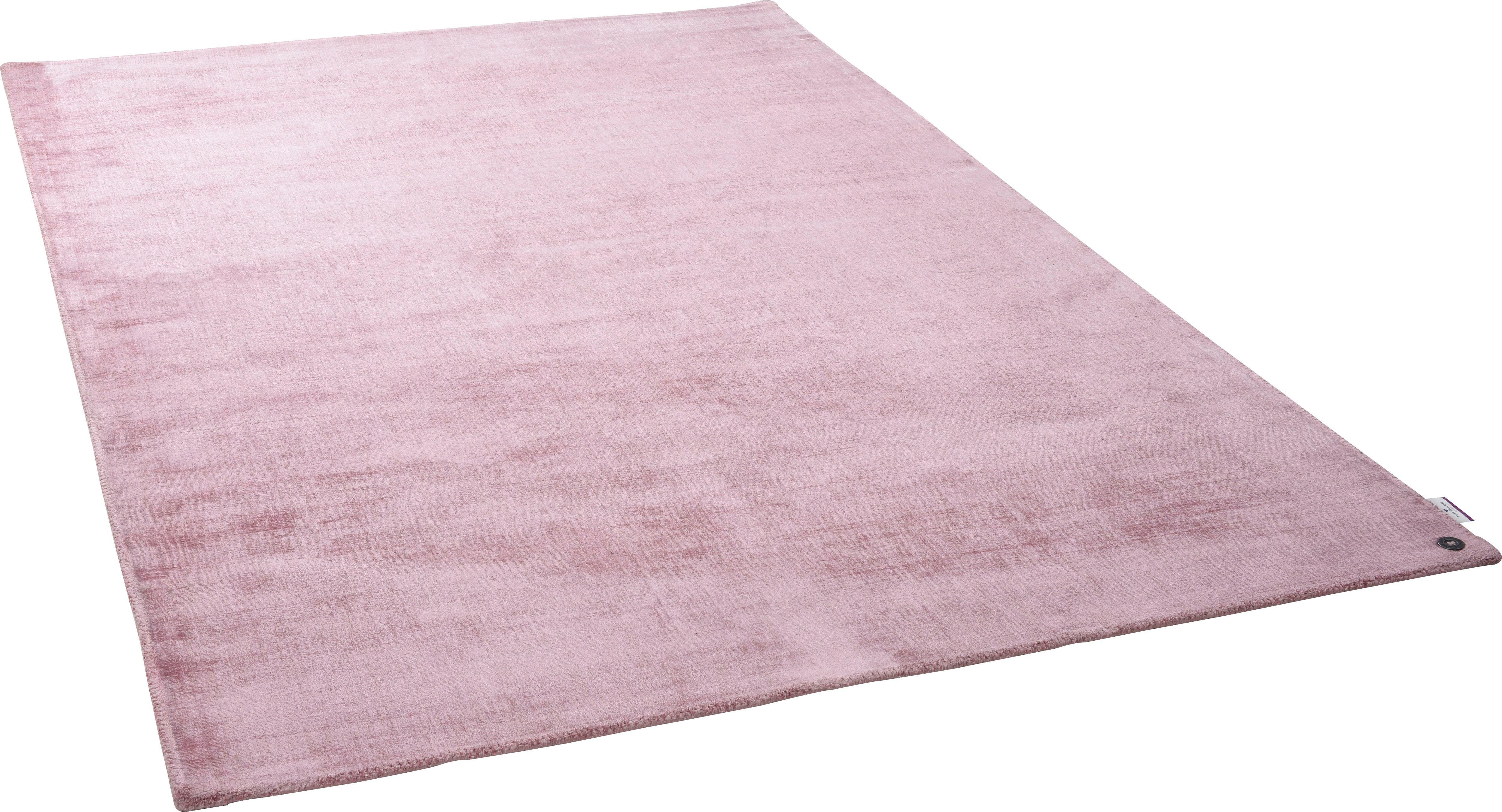 Teppich Shine uni TOM TAILOR rechteckig Höhe 8 mm handgewebt