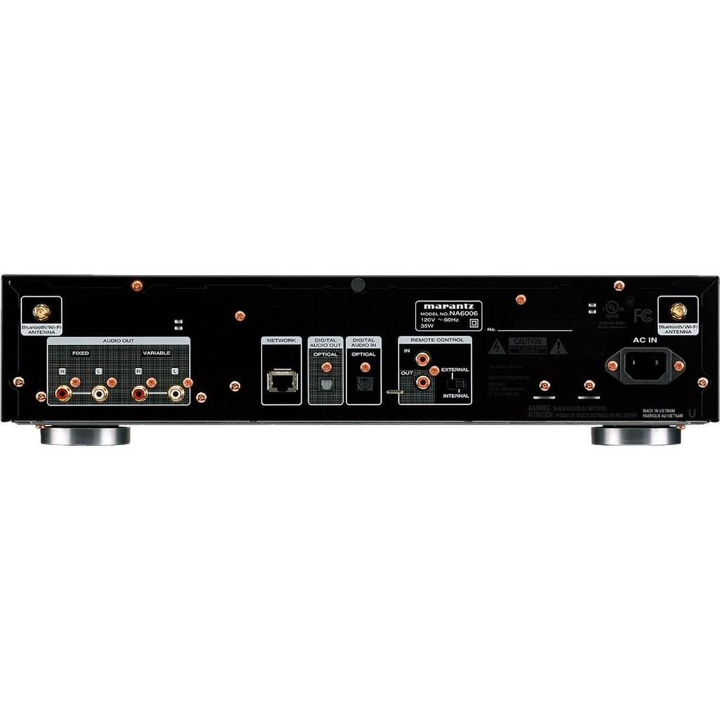Marantz Netzwerkplayer »NA6006«, (WLAN-Bluetooth Internetradio )