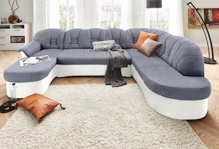 domo collection wohnlandschaft auf rechnung kaufen baur. Black Bedroom Furniture Sets. Home Design Ideas