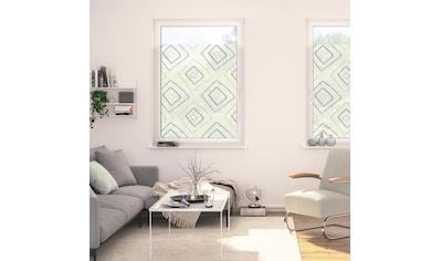 LICHTBLICK ORIGINAL Fensterfolie »Fensterfolie selbstklebend, Sichtschutz, Stripy Boho... kaufen