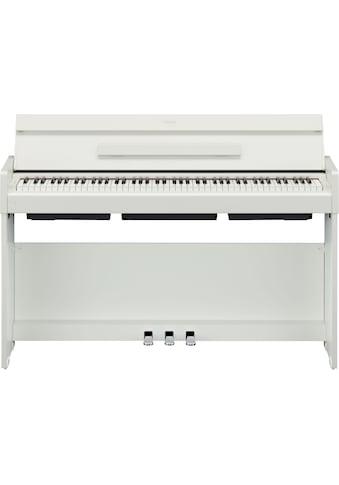 Yamaha Digitalpiano »YDPS34WH«, automatische Klanganpassung durch Intelligent Acoustic... kaufen