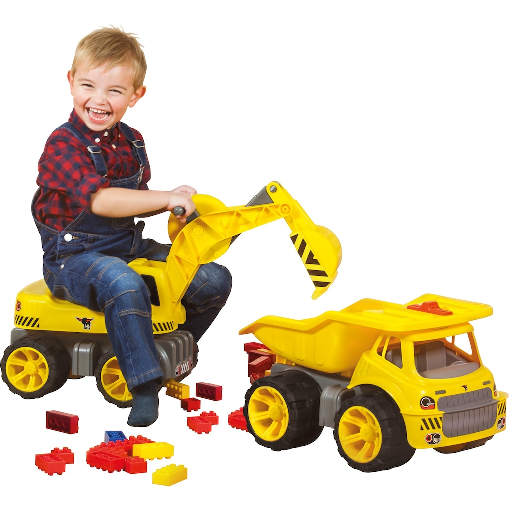 BIG Spielzeug-Bagger »BIG Power Worker Maxi Digger«, Aufsitz-Bagger, Made in Germany