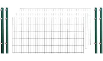 ARVOTEC Set: Einstabmattenzaun 103 cm hoch, 2 Matten für 4 m, 3 Pfosten kaufen