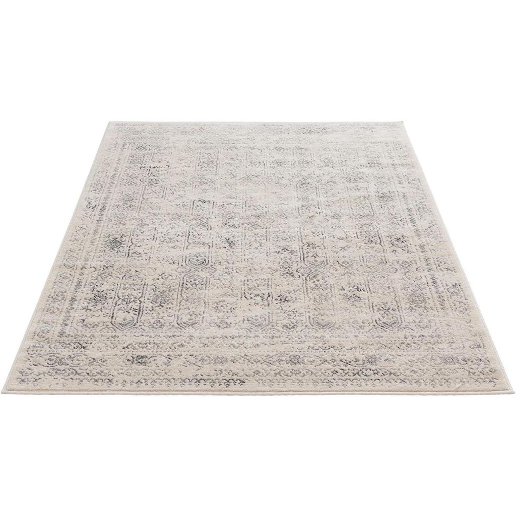 Sehrazat Teppich »Montana 3716«, rechteckig, 8 mm Höhe, Kurzflor, Vintage Design, Wohnzimmer