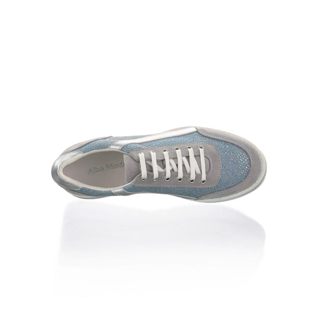Alba Moda Sneaker, mit Strasssteinen besetzt