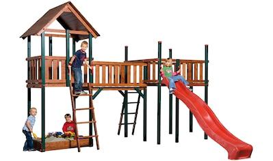 WEKA Set: Spielturm »Tarpan«, BxHxT: 430x331x160 cm kaufen