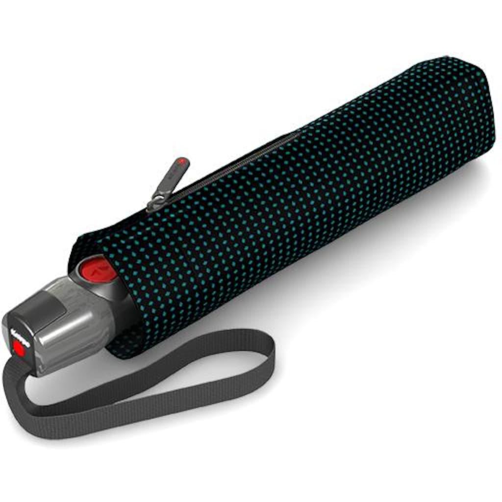 Knirps® Taschenregenschirm »T.200 Medium Duomatic, Watson Aqua«