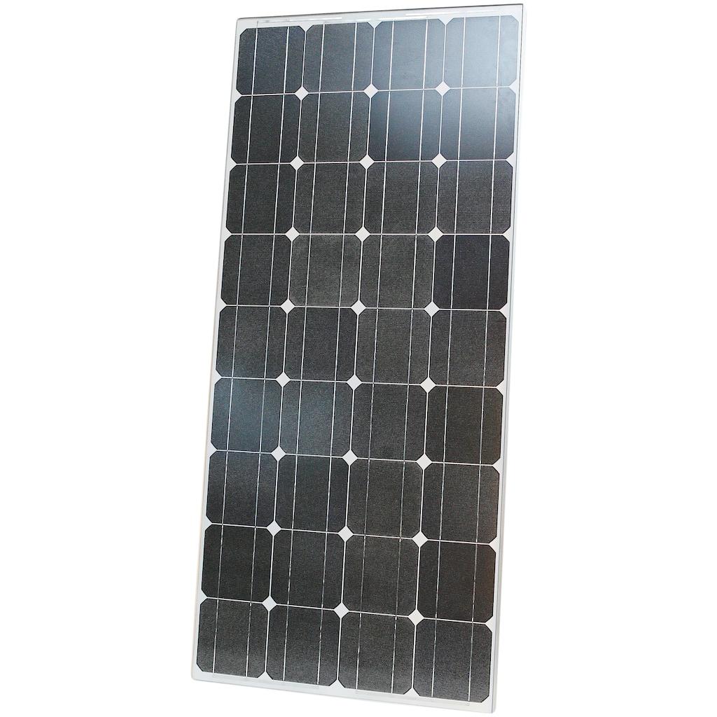 Sunset Solarmodul »Stromset AS 140, 140 Watt, 230 V«, für Gartenhäuser oder Reisemobil