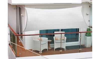 FLORACORD Sonnensegel , BxL: 270x140 cm, silbergrau kaufen
