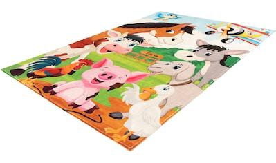 Obsession Kinderteppich »My Juno 472«, rechteckig, 10 mm Höhe, Spielteppich, Motiv... kaufen