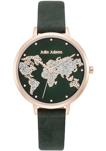Julie Julsen Quarzuhr »WORLD ROSÉ EMERALD, JJW1202RGL-16« kaufen