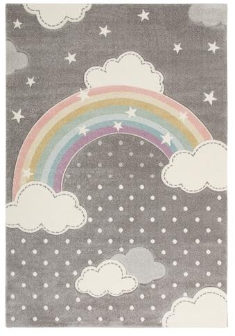 Kinderteppich, »Regenbogen«, Lüttenhütt, rechteckig, Höhe 13 mm, maschinell gewebt kaufen
