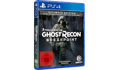 Tom Clancy's Ghost Recon Breakpoint Ultimate Edition PlayStation 4 kaufen