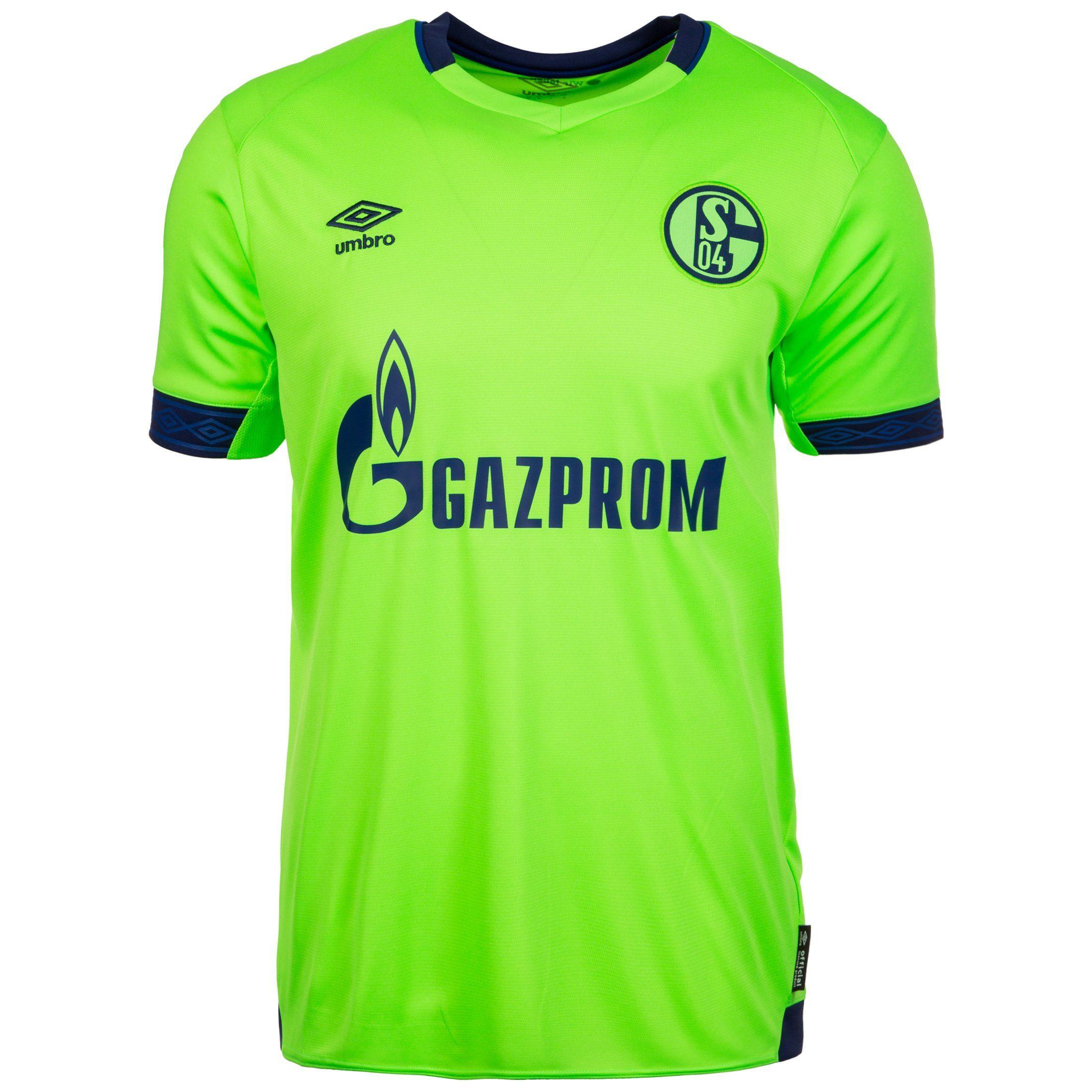 Umbro Fußballtrikot Fc Schalke 04 18/19 3rd | Sportbekleidung > Trikots > Fußballtrikots | Grün | Umbro