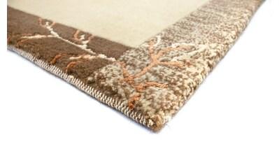 morgenland Wollteppich »Nepal Teppich handgeknüpft braun«, rechteckig, 18 mm Höhe,... kaufen
