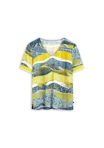 Sandwich T-Shirt, mit farbenfrohem All-over-Print kaufen