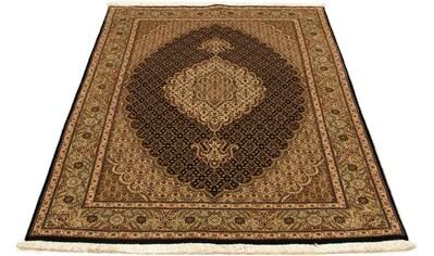 morgenland Teppich »Täbriz 50 Raj Teppich handgeknüpft schwarz«, rechteckig, 7 mm... kaufen