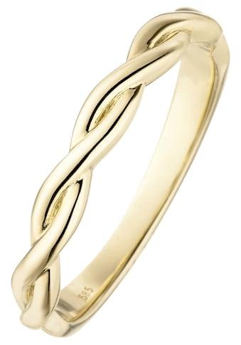 JOBO Goldring, geflochten 585 Gold kaufen