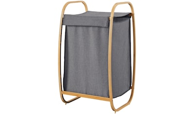 WELLTIME Wäschekorb »Costa Rica«, Wäschebox, 43 cm breit, Bambus kaufen