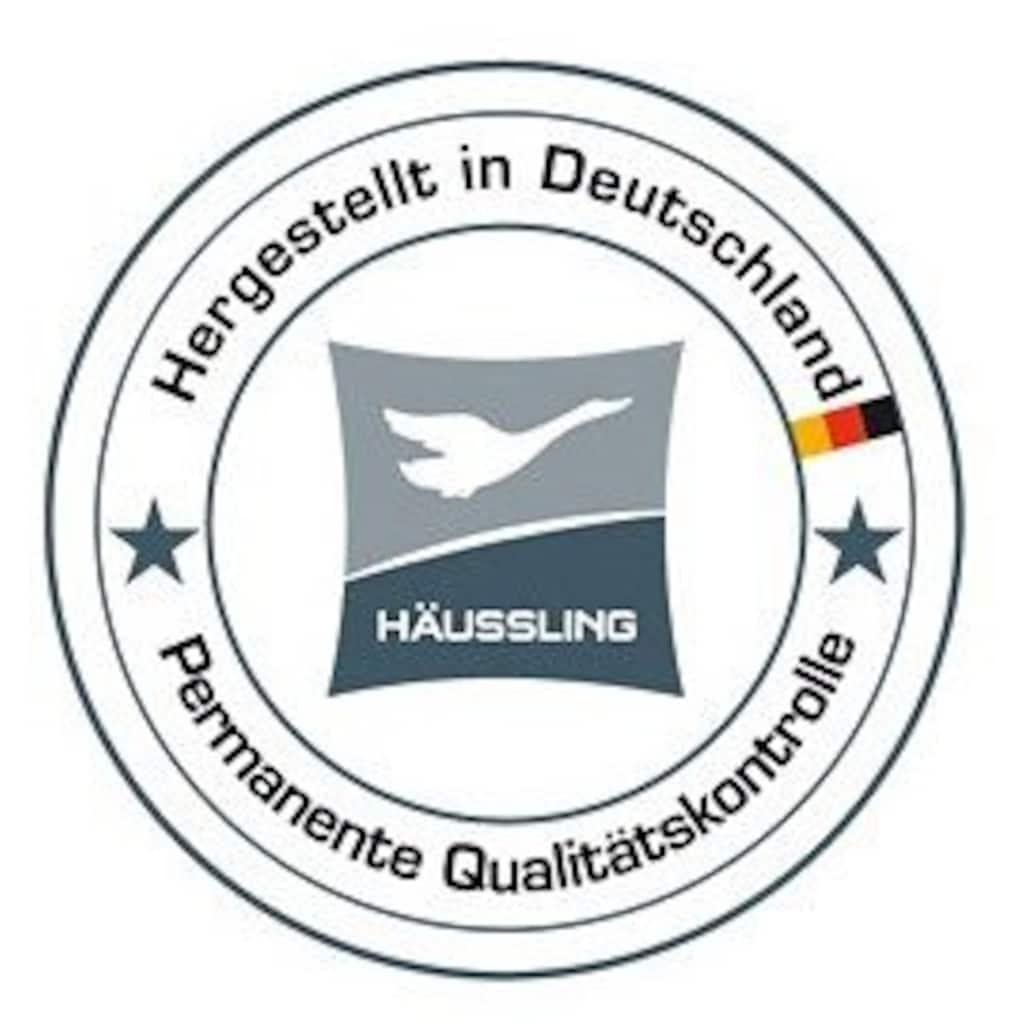 Haeussling Daunenbettdecke »Königstraum - First Class«, leicht, Füllung 90% Daunen, 10% Federn, Bezug 100% Baumwolle, (1 St.), Hohenstein geprüft