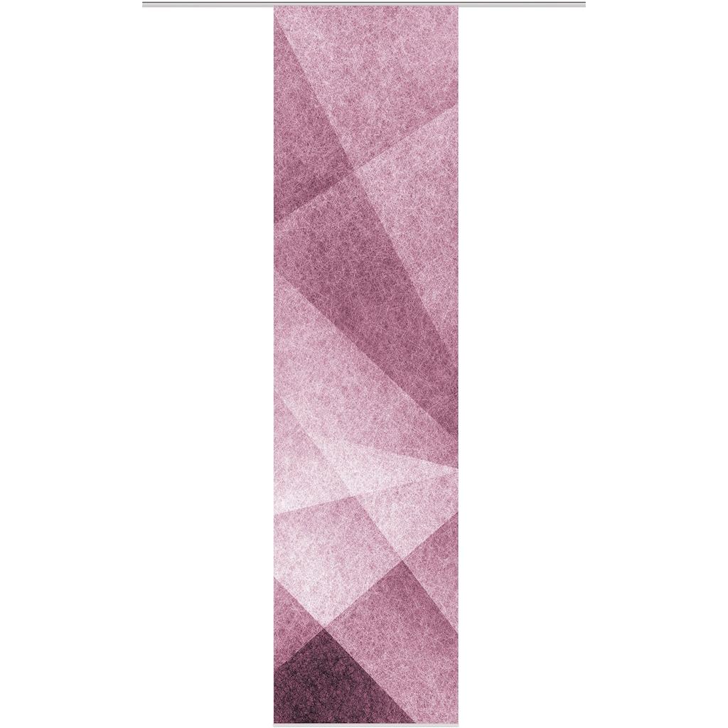 HOME WOHNIDEEN Schiebegardine »FILANA«, HxB: 245x60, Dekostoff Digitaldruck