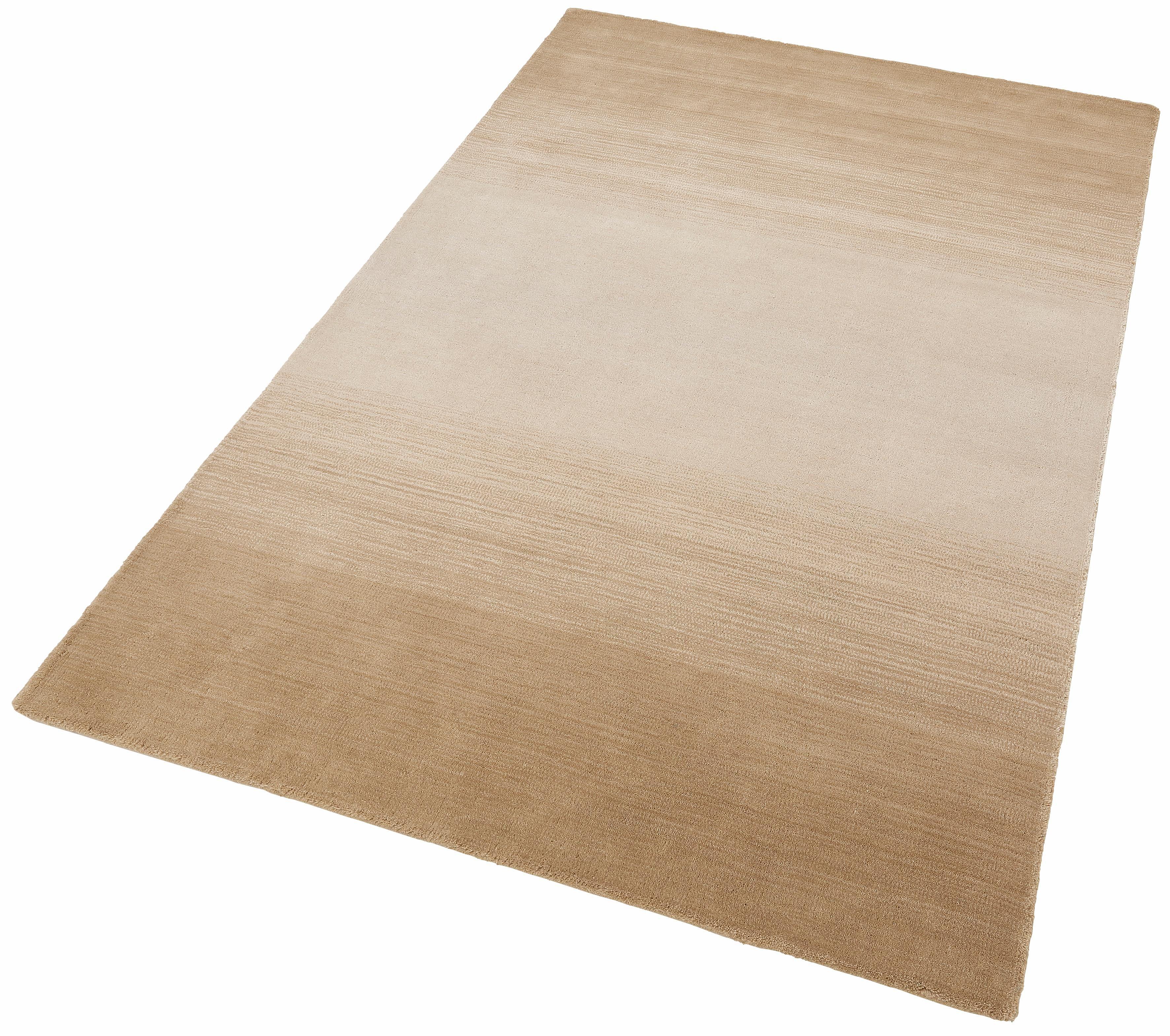 Wollteppich Wool Comfort THEKO rechteckig Höhe 15 mm handgetuftet
