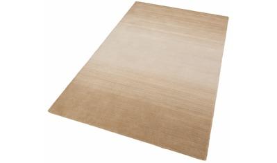 Wollteppich, »Wool Comfort«, THEKO, rechteckig, Höhe 15 mm, handgetuftet kaufen