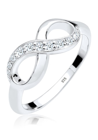 Diamore Verlobungsring »Infinity Diamant 0.125 ct. Geschenkidee 925 Silber« kaufen