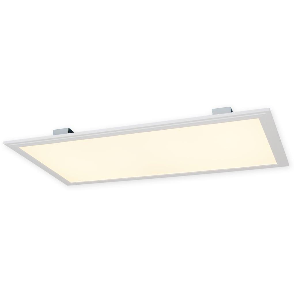 näve LED Panel »Alegre«, LED-Board, 1 St., Warmweiß, Microwave-Sensor Reichweite bis 10 m Erfassungswinkel 360°