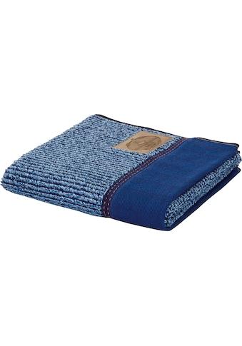 Möve Handtuch »Denim«, (1 St.), mit Längsrippe kaufen