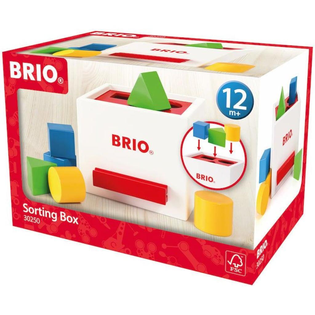 BRIO® Steckspielzeug »Sortierbox«, FSC®-Holz aus gewissenhaft bewirtschafteten Wäldern